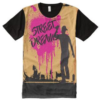 T-shirt Tout Imprimé La rue rêve l'art de graffiti