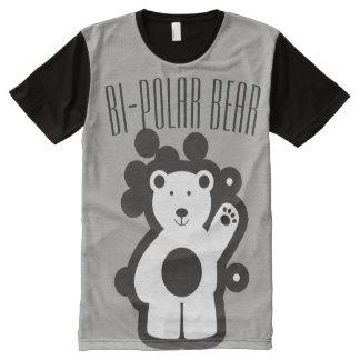 T-shirt Tout Imprimé Ours bipolaire 101
