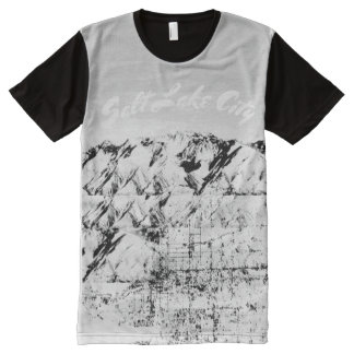 T-shirt Tout Imprimé Pièce en t de Salt Lake City