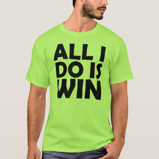 T-shirt Tout que je fais est chemise de victoire