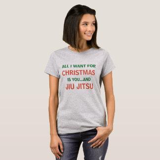 T-shirt Tout que je veux pour Noël est chemise drôle de