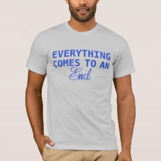 T-shirt Tout se termine