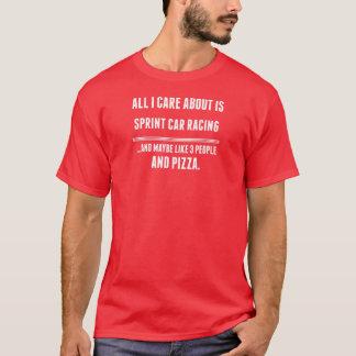 T-shirt Tout soin d'I est environ des sports de courses