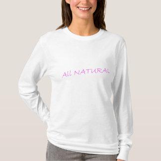 T-shirt TOUTE LA longue douille T de marque NATURELLE