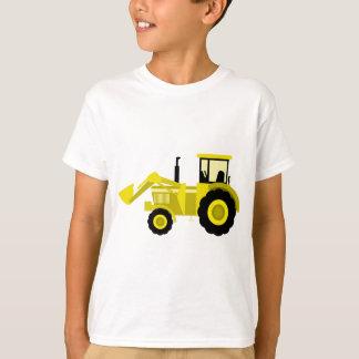 T-shirt Tracteur jaune