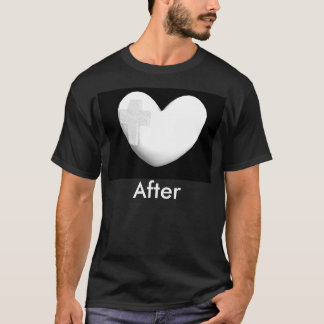 T-shirt Transformation de coeur