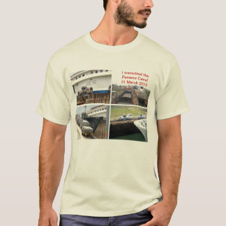 T-shirt Transit de canal de Panama