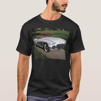 T-shirt Transport 077, voitures classiques, corvette, un