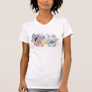 """T-shirt Transsexuel de réservoir """"de papillon libre"""""""