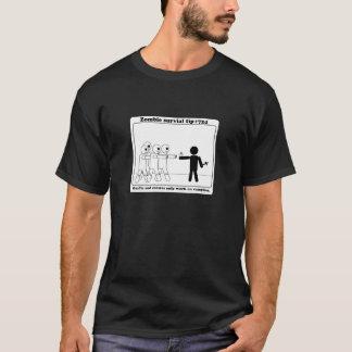 T-shirt Travail d'ail et de croix seulement sur des