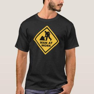 T-shirt Travailleur de la construction