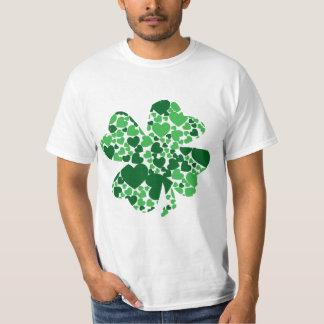 T-shirt Trèfle chanceux de chemise du JOUR de St Patrick
