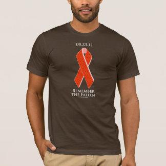 T-shirt Tremblement de terre de Côte Est : Rappelez-vous