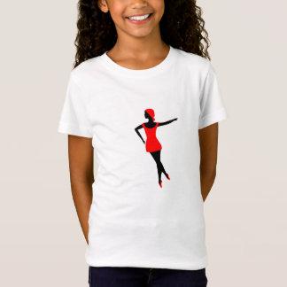 T-Shirt Très bien la ballerine