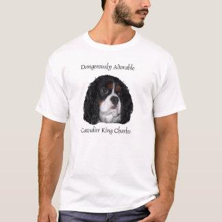 T-shirt Tri Cav coloré dangereusement adorable