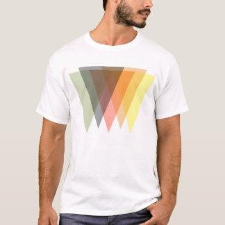 T-shirt triangles inversées assorties