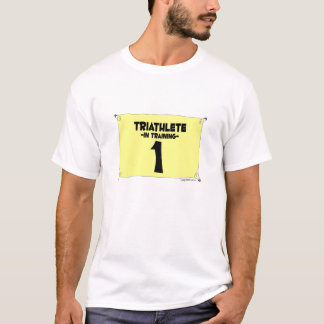 T-shirt Triathlete dans la formation