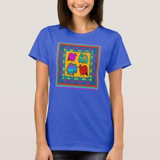 T-shirt tribal de spiritueux animaux
