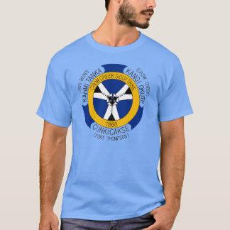 T-shirt Tribu de Sioux de crique de corneille