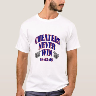 T-shirt Tricheurs