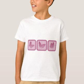 T-shirt Trio de Butterlies