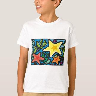 T-shirt Trio d'étoiles de mer