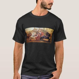 T-shirt Triumph d'Achille - fresque à Corfou - Achellion