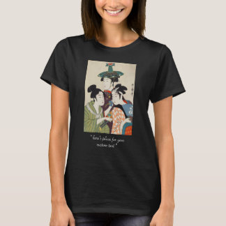 T-shirt Trois jeunes acteurs Kitagawa, art de kabuki