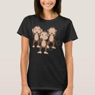 T-shirt Trois singes sages