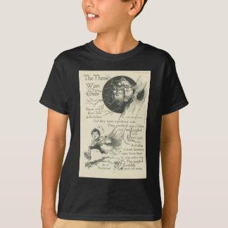 T-shirt trois vieux hiboux sages