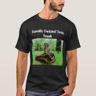 T-shirt Tronc d'arbre tordu terrible