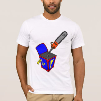 T-shirt Tronçonneuse-Dans-un-Box