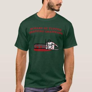 T-shirt Tronçonneuse de jeunes cadres dynamiques