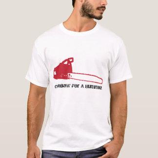 T-shirt Tronçonneuse pour Hummer, chemise blanche