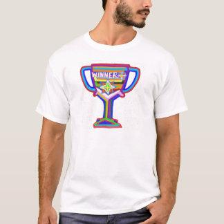 T-shirt Trophée de gagnant :  Art acrylique