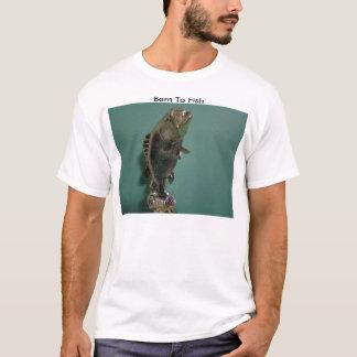 T-shirt Trophée de pêche, soutenu pour pêcher
