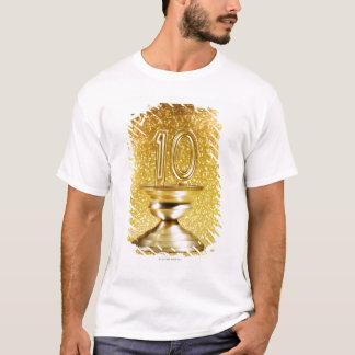 T-shirt Trophée du numéro 10 d'or