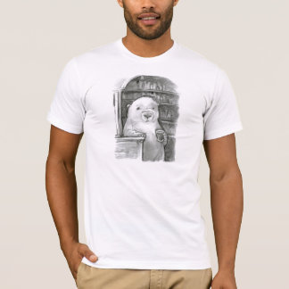 T-shirt Trou d'ours de bière de barre