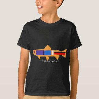 T-shirt Truite de Rothko pour l'obscurité