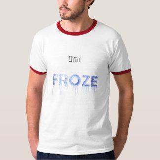 T-shirt Ts_Im blanc congelé