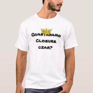 T-shirt Tsar de fermeture de Guantanamo ?