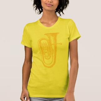 T-shirt Tuba en laiton