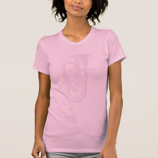 T-shirt Tuba rose