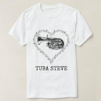 T-shirt Tuba Steve