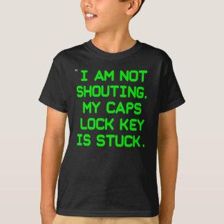 T-shirt Tube de clé de fonction majuscule (enfants)