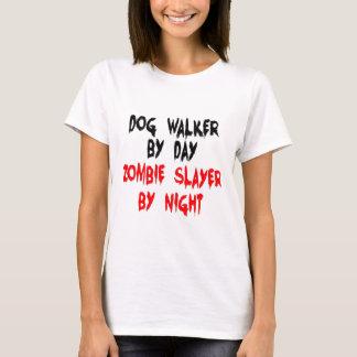 T-shirt Tueur de zombi de marcheur de chien