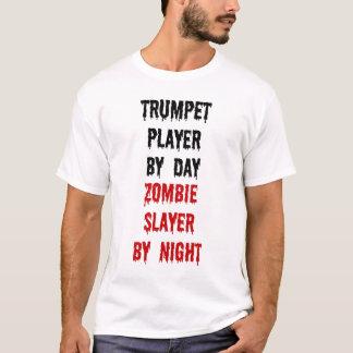 T-shirt Tueur de zombi de trompettiste