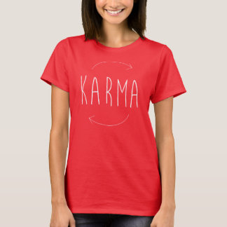 T-shirt Tumblr de karma