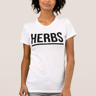 T-shirt Tumblr d'herbes