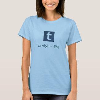T-shirt Tumblr = pièce en t de la vie
